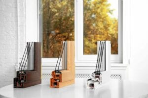 Samples,Of,Modern,Window,Profiles,On,Table,Indoors.,Installation,Service